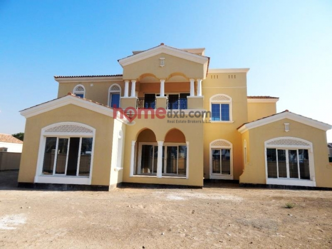 5BR Villa+Maids+Study+Courtyard, Polo Homes, Arabian Ranches