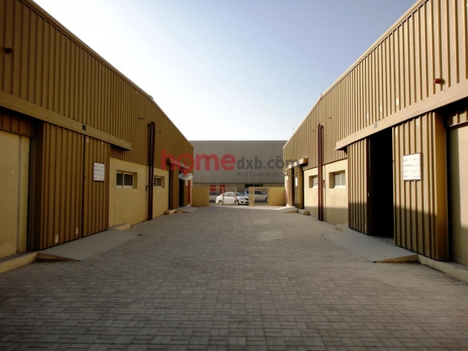 Jebel Ali Ind. Area, Large Insulated Warehouse