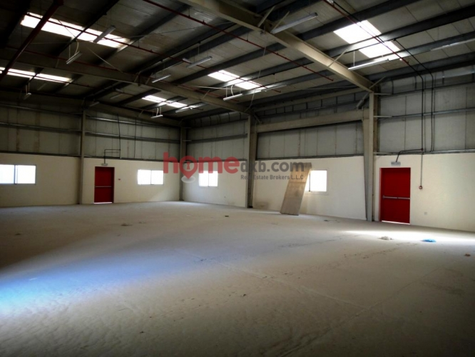 Jebel Ali, Insulated Warehouse + Service Block