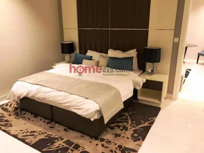 Furnished 1 BR Hotel Apartment, Bays Edge