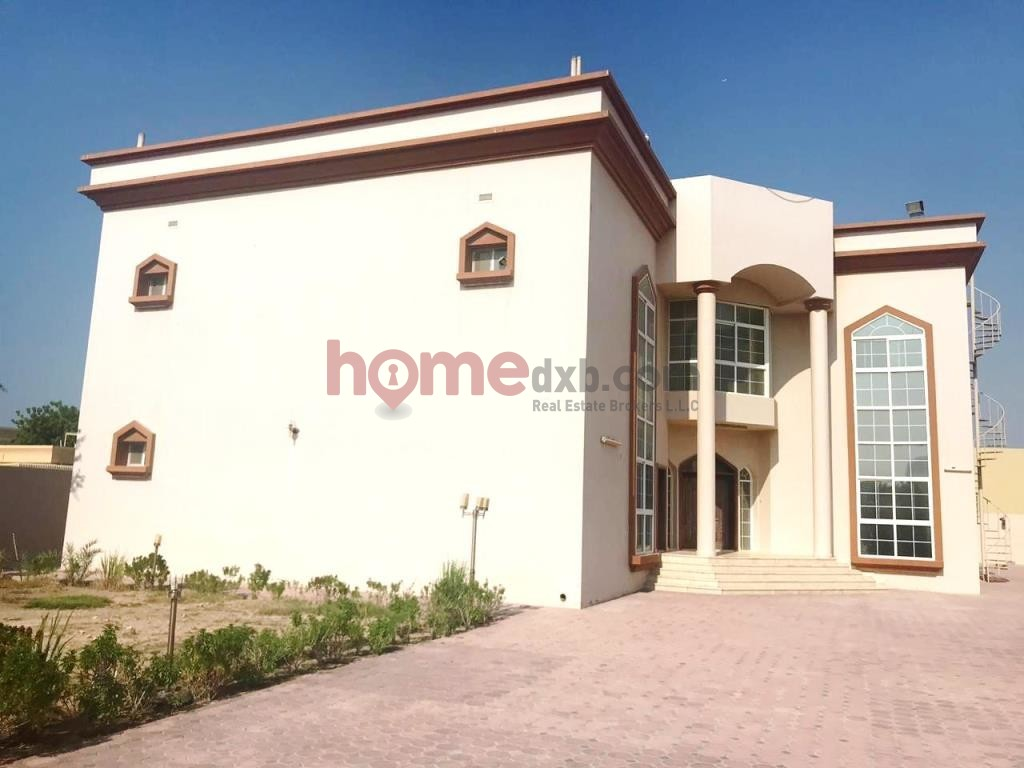 Large Plot, 7BR Villa + Maid + Driver, G+1